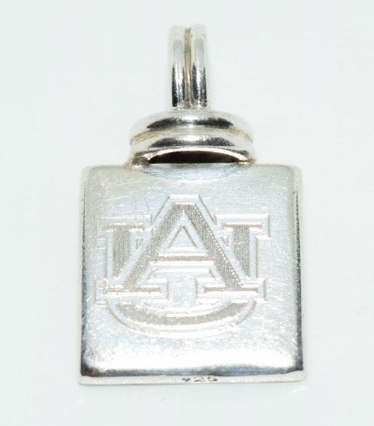 Sterling Silver Auburn University Pendant