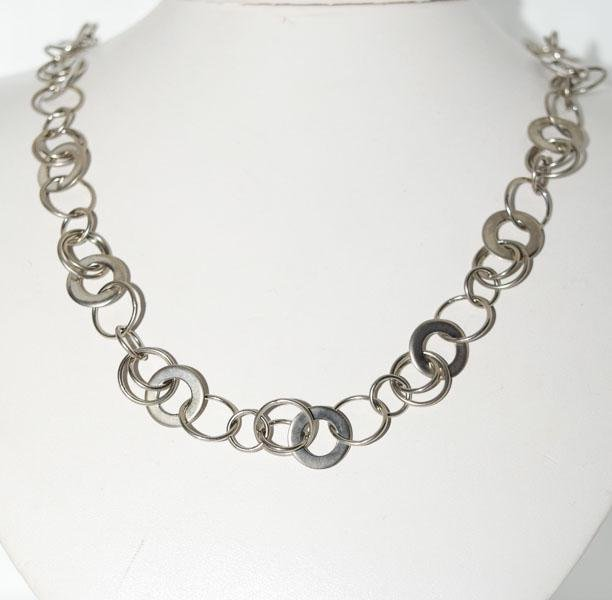 Host Pick Sterling Silver Multi Link Necklace