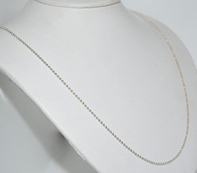 Italy Sterling 24inch 1.8mm Ball Chain