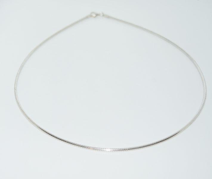 Italy Sterling 18inch 2mm Necklace