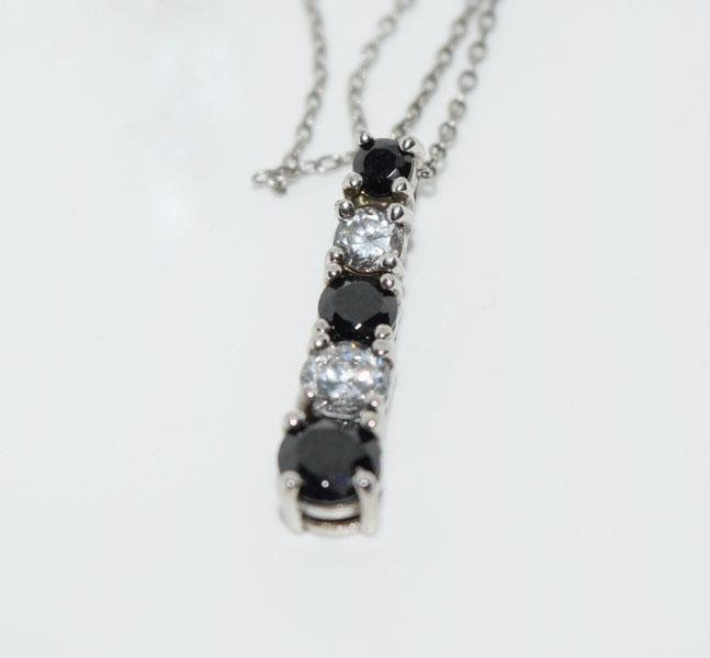 Sterling Silver Journey Necklace