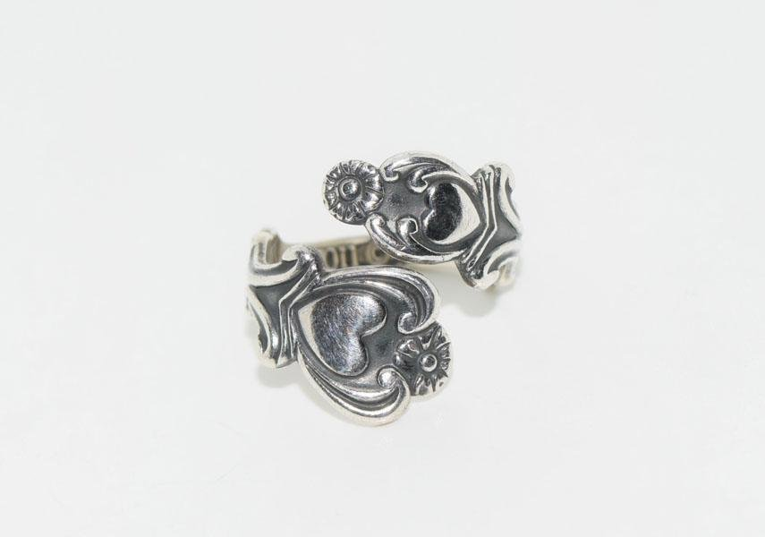 Sterling Silver Avon Hearts Wrap Around Ring Host Pick