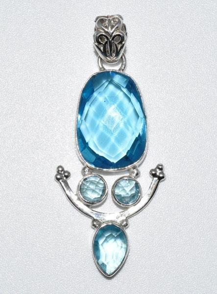Sterling Unique Design Pendant