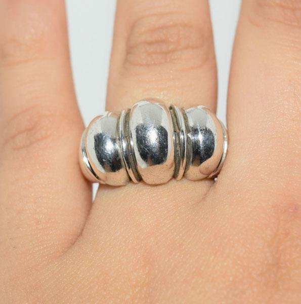 Sterling Silver Classic Dome Ring Sz7.5
