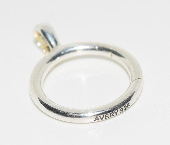 James Avery Sterling Charm Holder Pendant