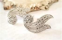 Sterling Silver Screw Back Earrings