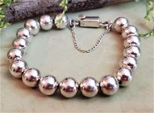 Silpada Sterling Silver Beaded Bracelet