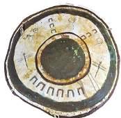 1896 Ghost Dance Shield, Crow Indians, White Buffalo !