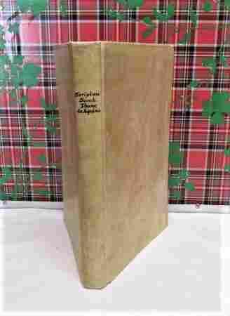 1497 THOMAS AQUINAS tertio libro Sententiarum, V Rare