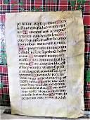 Original c1390 Handwritten Illuminated Psalter RARE!