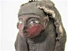 BEAUTIFUL ANCIENT EGYPTIAN FAIENCE USHABTI SHABTI