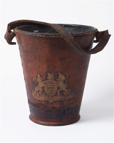 Fire Bucket Marked Officers Mess 12 25