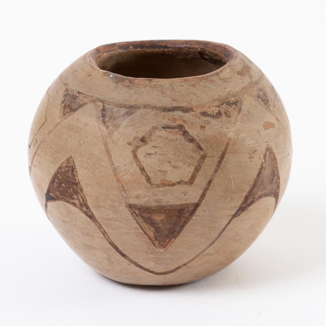 Southwest Native American Maricopa Pottery Bowl