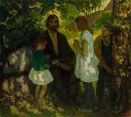 FRANCIS LUIS MORA, American (1874-1940), The Wanderer,