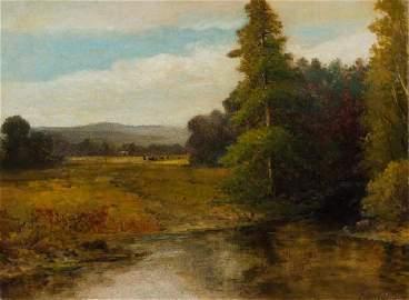 AARON DRAPER SHATTUCK, American (1832-1928), Pastoral