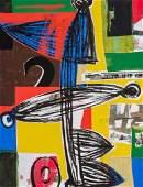 ROY DOWELL, American (b. 1951), Untitled, mixed media