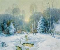 ERNEST ALBERT, American, oil on canvas