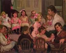 THERESA FERBER BERNSTEIN, American, oil on canvas
