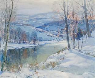 EMILE ALBERT GRUPPE, American, oil on canvas