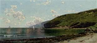 ALFRED THOMPSON BRICHER, American, oil on canvas