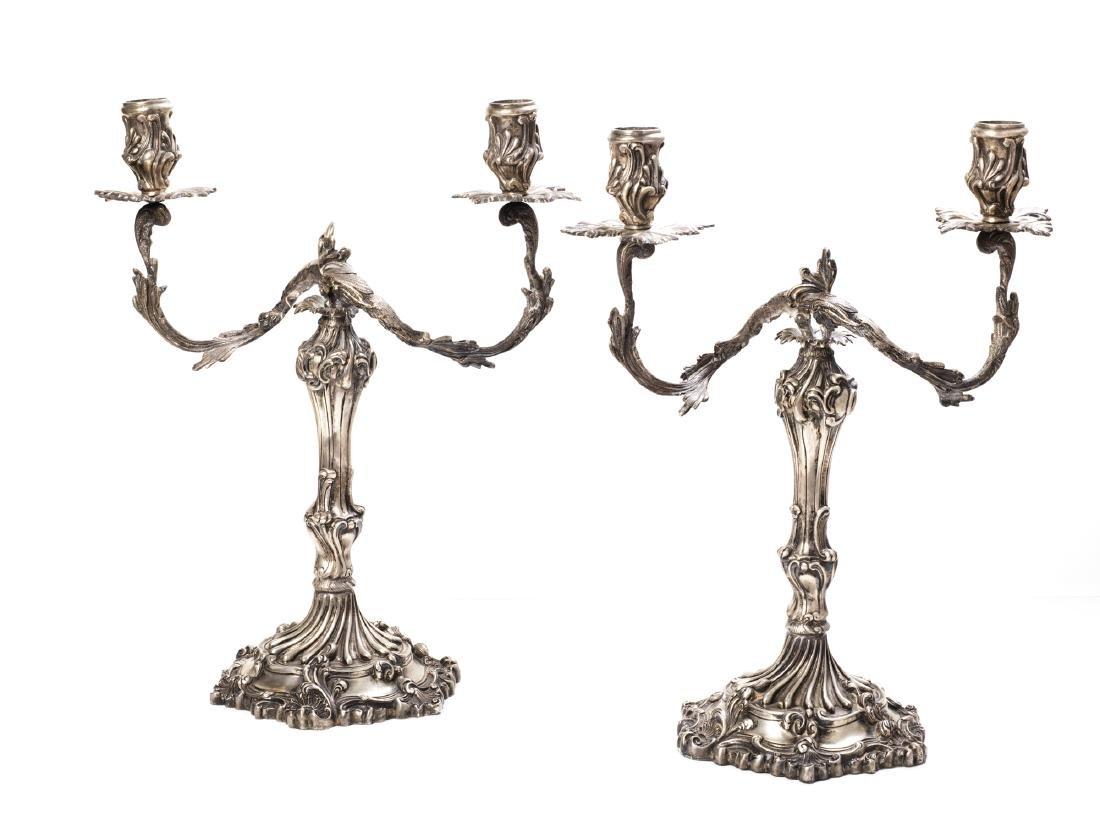 Coppia di candelabri