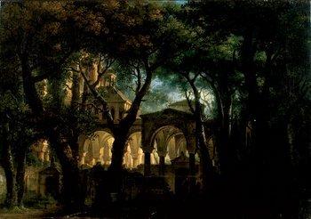 253B: Attr. a Giovanni Migliara (1785-1837) L'antica ch