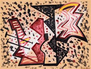 Alberto Magnelli - Composizione, 1940
