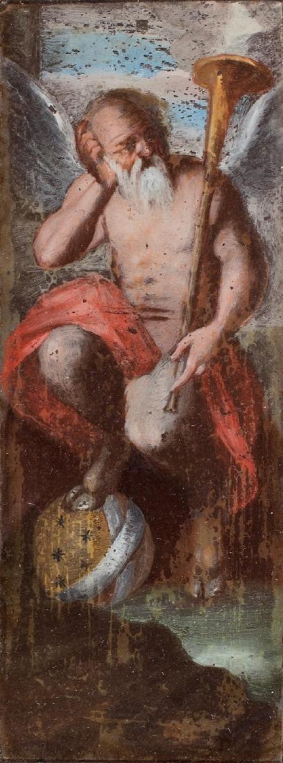 Scuola napoletana, secolo XVII ()  - Allegory of Time