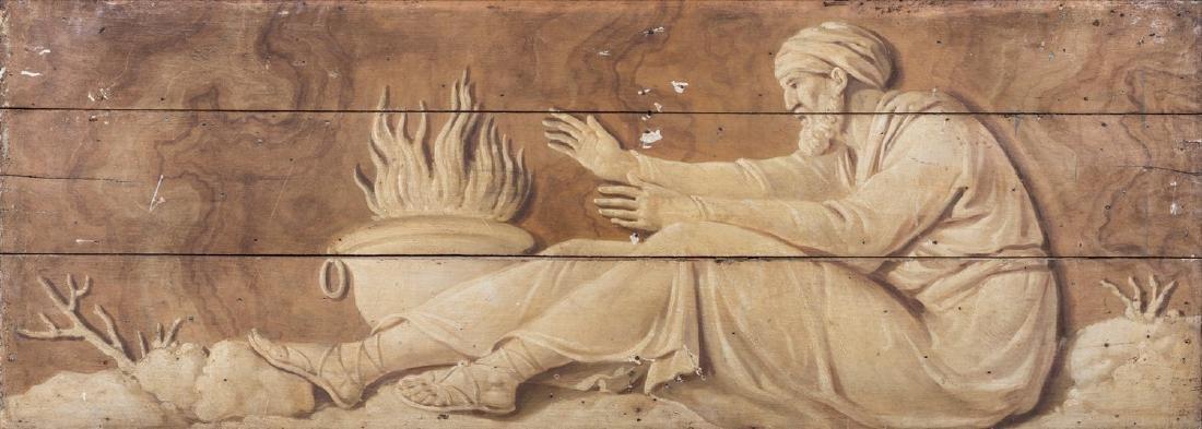 Scuola dell'Italia centrale, secolo XVII ()  - Allegory