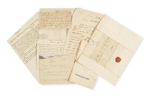 3A: Barrili, Anton Giulio e altri. Lettere autografe.