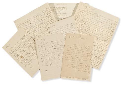 14A: Chiarini, Giuseppe. Lettere autografe e un manoscr