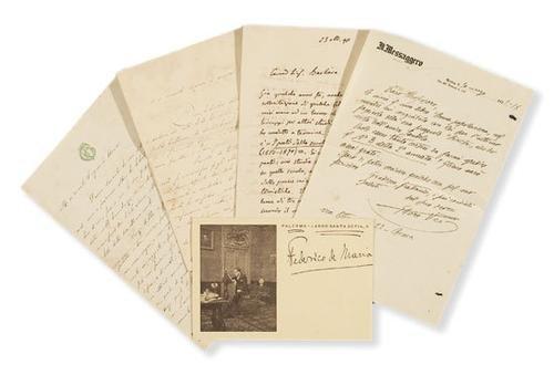 26A: Guerrazzi, Francesco Domenico e altri.. Lettere au