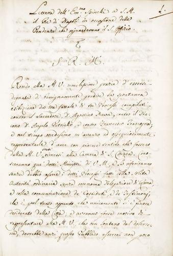 38A: Miscellanea napoletana. Miscellanea napoletana.