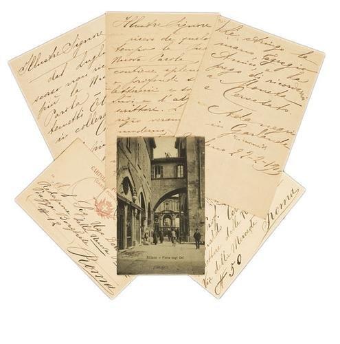 45A: Negri, Ada. Lettere e cartoline autografe.