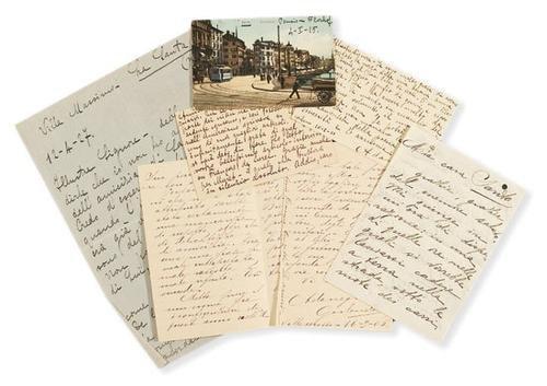 46A: Negri, Ada. Lettere autografe.