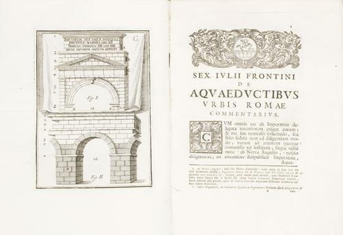 68A: Acquedotti - Frontino. De Aquaeductibus Urbis Roma