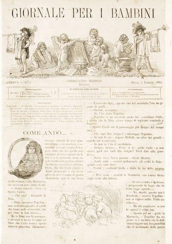 624A: Pinocchio. Il giornale per i bambini.