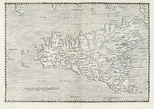 3A: Alberti, Leandro. Descrittione di tutta Italia...