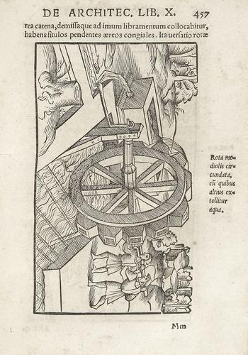 12A: Architettura - Vitruvio. De architectura libri X.