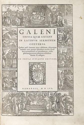 45A: Galeno. Omnia quae extant opera.