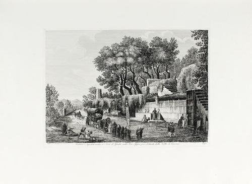 308A: Rossini, Luigi. Viaggio pittoresco da Roma e Napo
