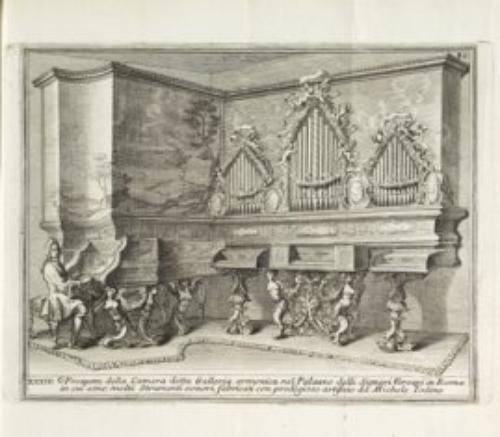 8A: Bonanni, Filippo. Gabinetto armonico pieno d'istro