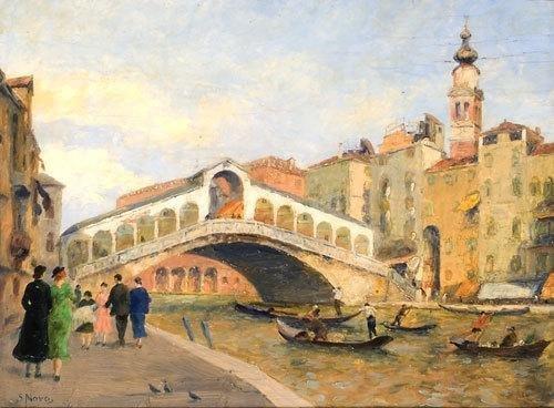 2C: Stefano Novo (1862 - 1934) Venezia