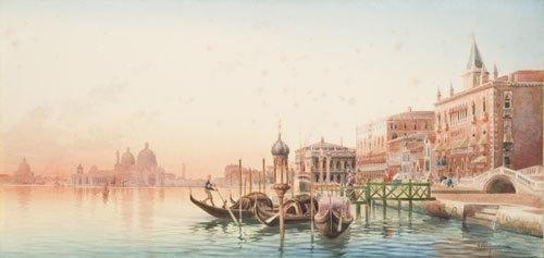 14C: Umberto Ongania  Veduta di Venezia