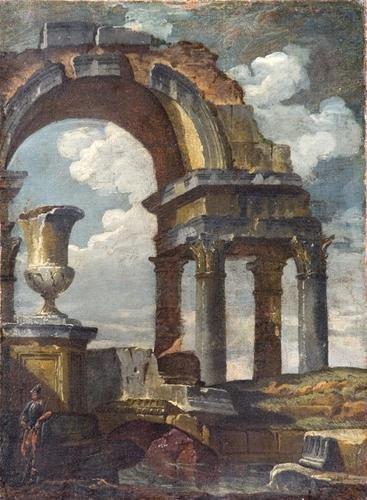8A: Cerchia di Giovanni Paolo Panini (Piacenza 1691 -