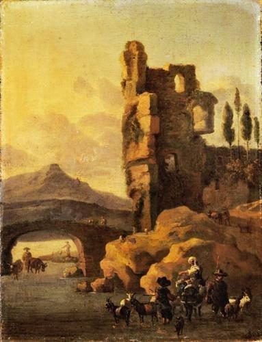 11A: Cerchia di Jan Baptist Weenix (Amsterdam 1621 - Ha