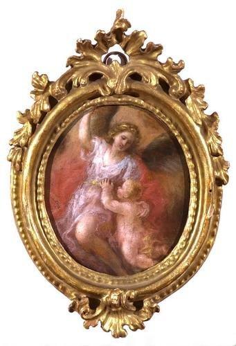 19A: Cerchia di Marco Benefial (Roma 1684 - 1764) Angel