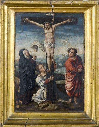 21A: Ignoto artista fiammingo, inizi del secolo XVI  Cr