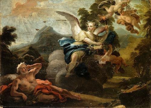 22A: Fedele Fischetti (Napoli 1734 - 1789) L'Aurora