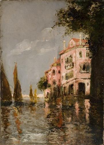 7C: Zaccaria Dal Bo (1872-1935) Vele a Venezia